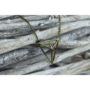 Naszyjnik Geometric Triangle