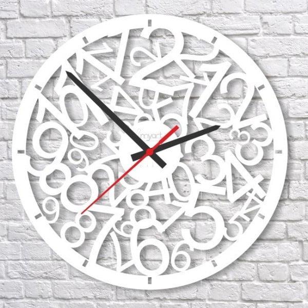 Zegar ścienny White Crazy