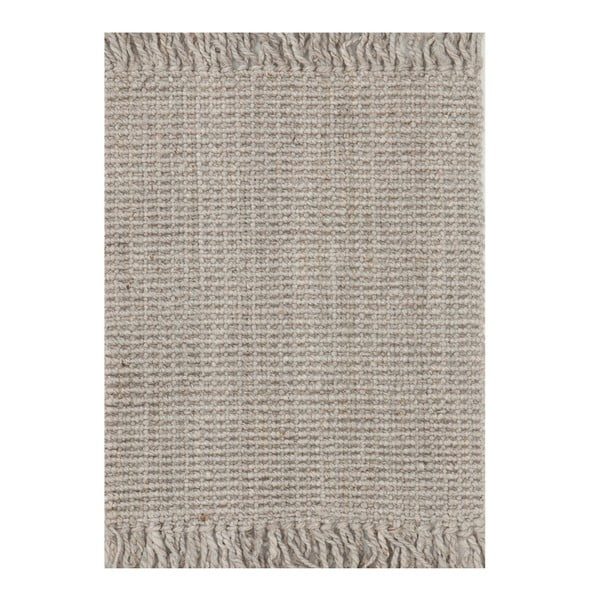 Wełniany dywan Surface Silver, 130x190 cm