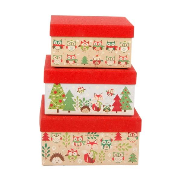 Zestaw 3 pudełek Forest