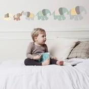 Naklejka na ścianę Art For Kids Elephant Family