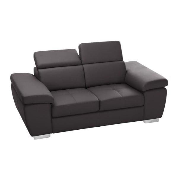 Ciemnobrązowa sofa Parure