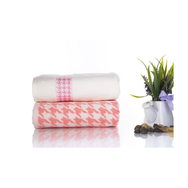 Zestaw 2 ręczników Carol V2, 50x90 cm