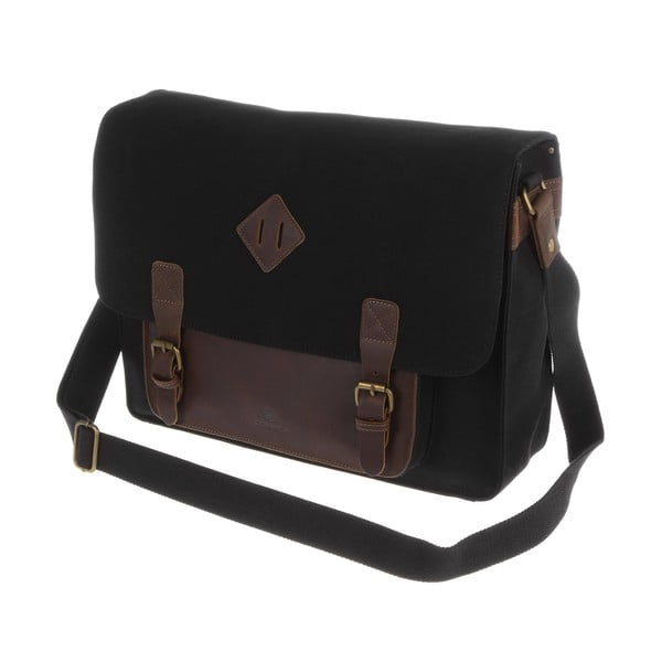 Męska torba Strand Canvas and Leather Notebook Bag