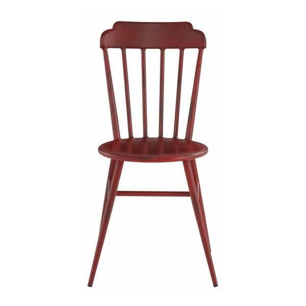 Zestaw 2 czerwonych krzeseł bukowych Støraa Toledo