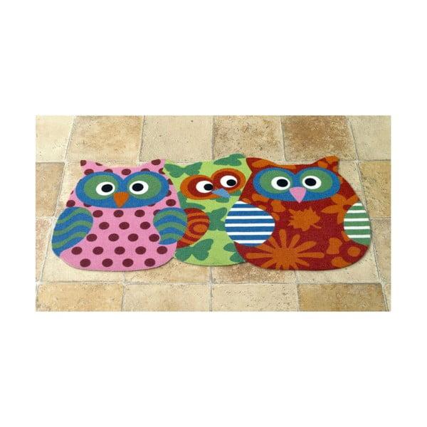 Dywan Owls - trzy sowy, 40x80 cm