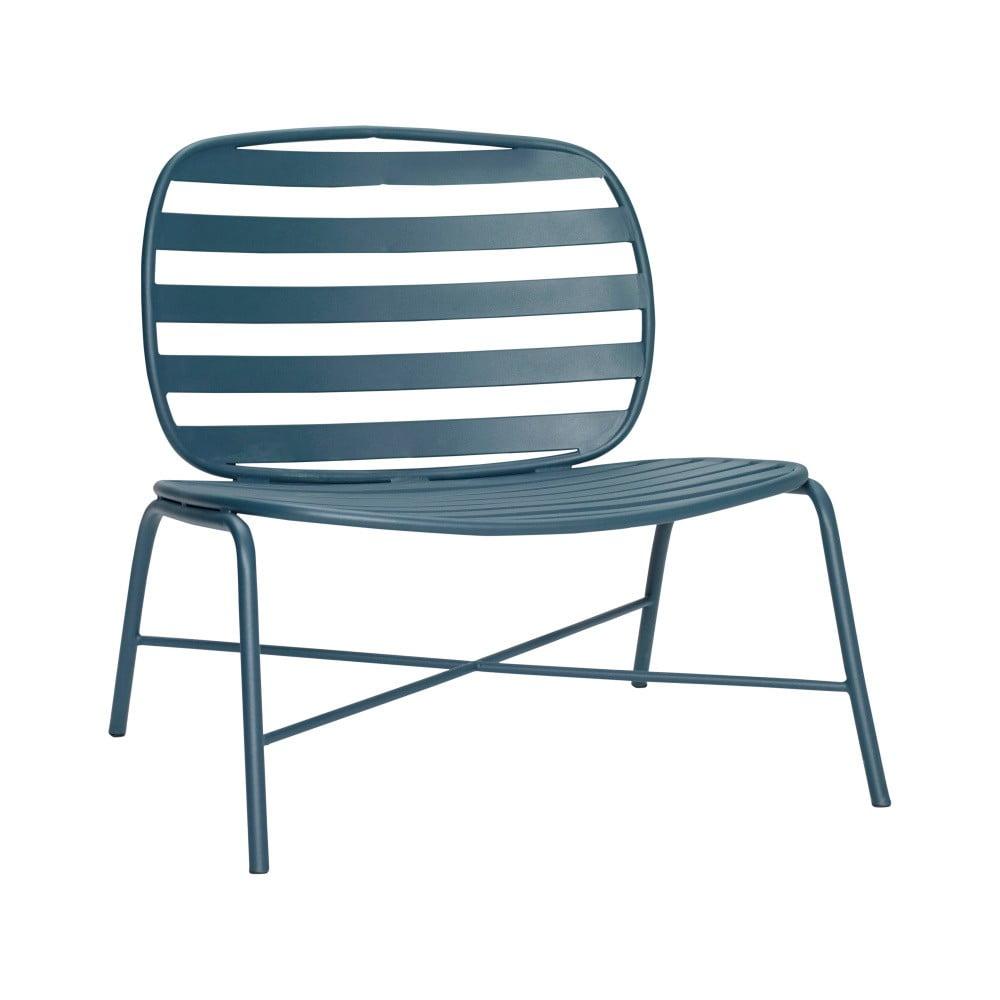 Zielony żelazny fotel Hübsch Lounge Chair