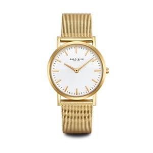 Zegarek damski w kolorze złota z białym cyferblatem Eastside East Village
