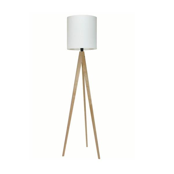 Lampa stojąca Artist White/Birch, 125x33 cm