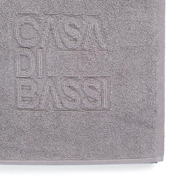 Szary dywanik łazienkowy z bawełny Casa Di Bassi Basic, 50x70 cm