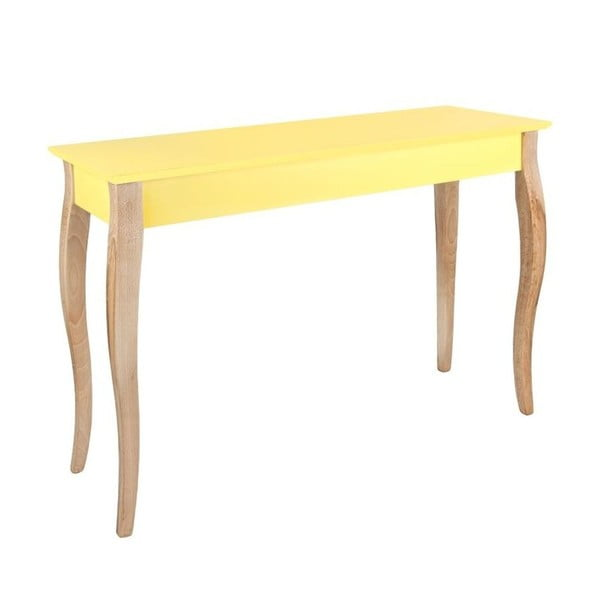 Konsolka  Dressing Table 150x74 cm, żółta