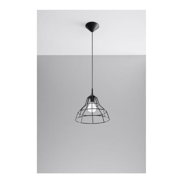 Czarna lampa wisząca Nice Lamps Asama