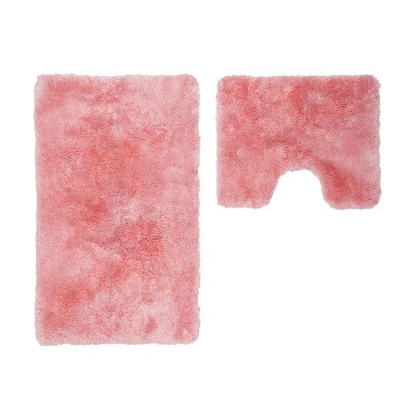 Zestaw 2 dywaników łazienkowych z wcięciem Spotlight Pink