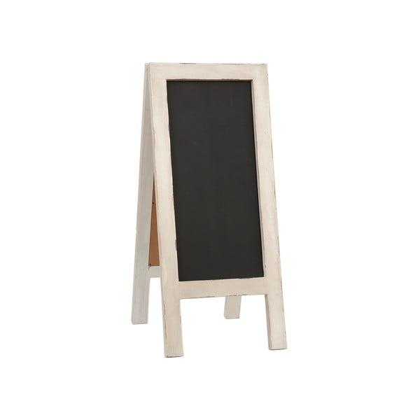 Tablica do pisania stojąca Clayre, 43x100 cm