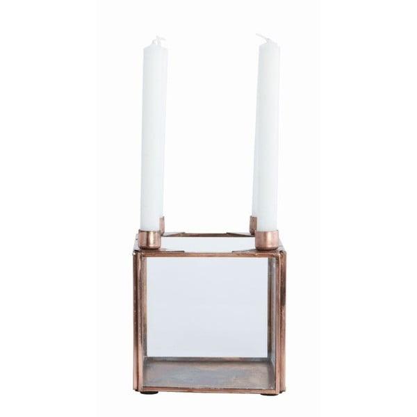 Świecznik Copper, 10x10 cm