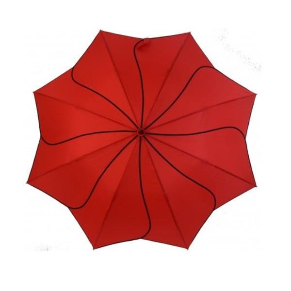 Czerwony parasol Windmill