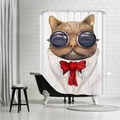 Zasłona prysznicowa Astro Cat, 180x180 cm