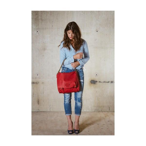 Czerwona torebka skórzana  Sleazy Jane