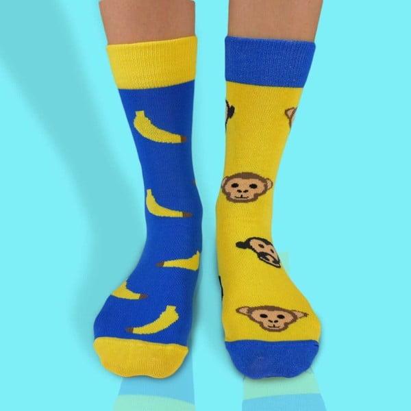 Skarpetki bawełniane Hesty Socks Małpki, rozm. 35-38