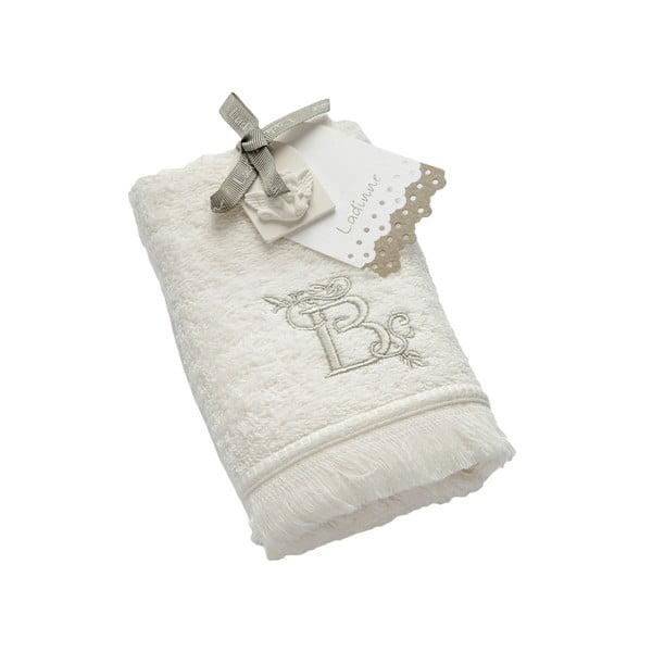 Ręcznik z inicjałem B, 30x50 cm