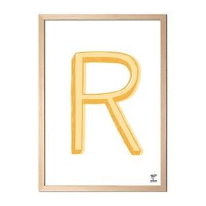 Plakat R designed by Karolina Stryková