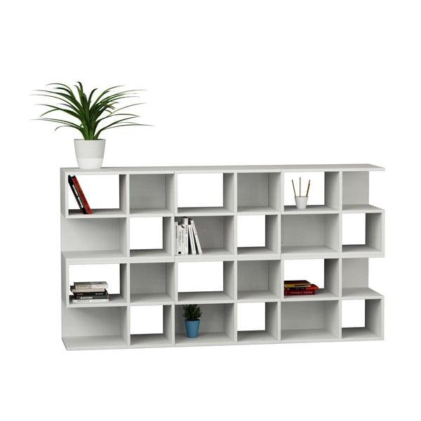 Biblioteczka Aaron 162 cm, biała