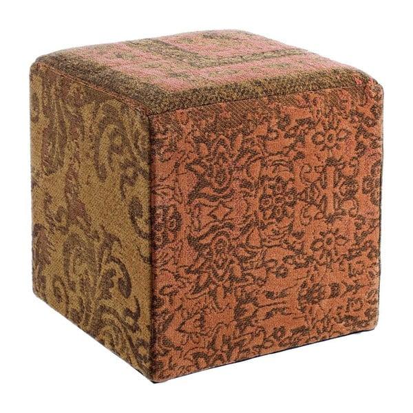 Stołek Twist Arancio, 40x40x40 cm