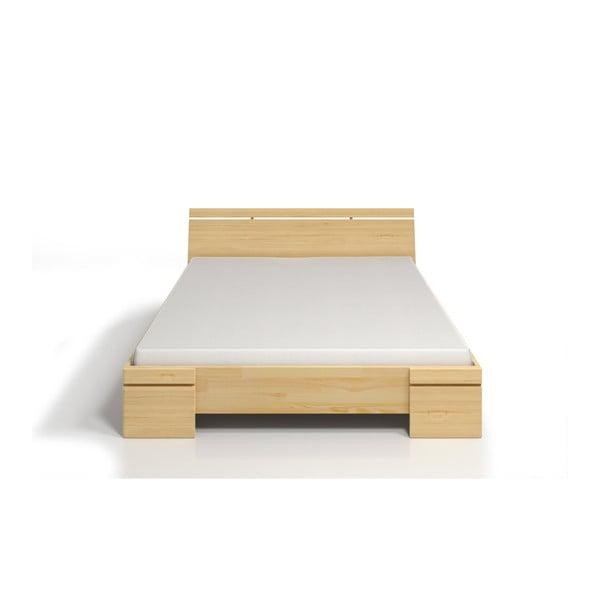 Łóżko dwuosobowe z drewna sosnowego SKANDICA Sparta Maxi, 160x200 cm