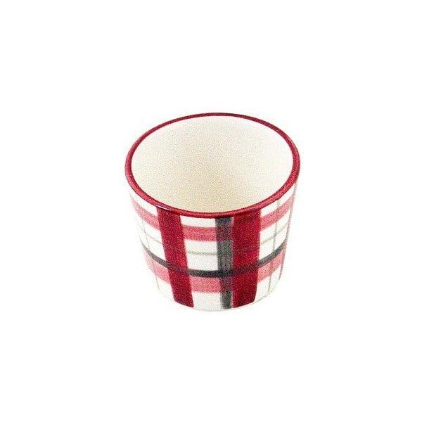 Kubek ceramiczny Checked Coffee