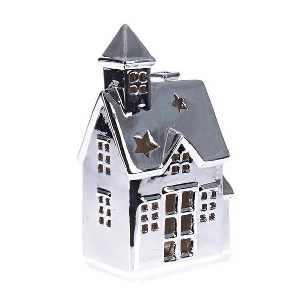 LED lampion Silver House