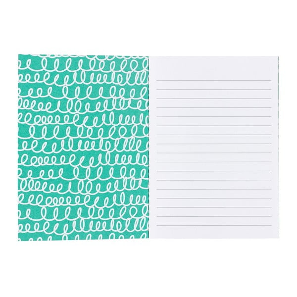 Zestaw 3 małych notesów Happy Jackson Mini Notebook