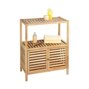 Szafka łazienkowa z drewna orzechowego Wenko Norway