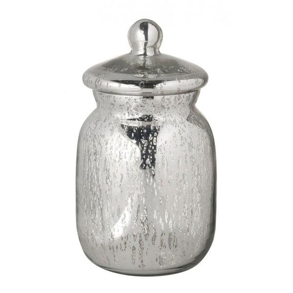 Szklany pojemnik z wieczkiem Parlane Gloss, wys. 17.5 cm