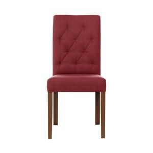 Červená židle Rodier Alepine