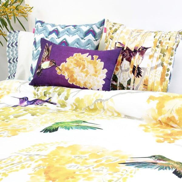 Zestaw 2 bawełnianych poszewek na poduszki Happy Friday Mimosa