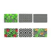 Zestaw 6 kolorowych mat stołowych Villa d'Este Tropicana