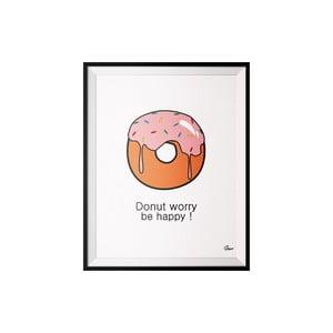 Plakat Donut, 40x50 cm