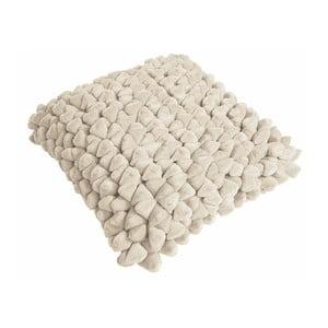 Beżowa poduszka ZicZac Pebble, 45x45 cm