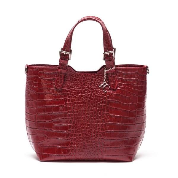 Skórzana torebka Renata Corsi 635 Rosso