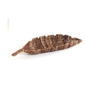 Wiklinowa miska Leaf Tray, 68 cm