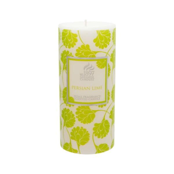 Świeczka zapachowa Pillar 100 godzin palenia, aromat limonki