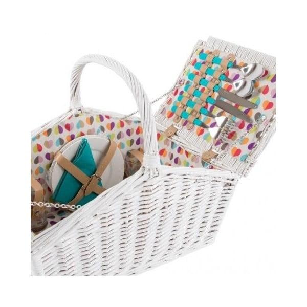 Kosz piknikowy dla 4 osób Navigate Confetti