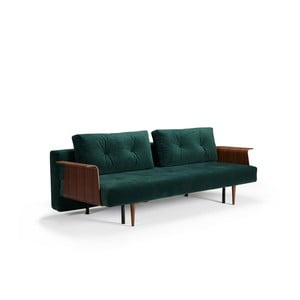 Zielona sofa rozkładana Innovation Recast Plus