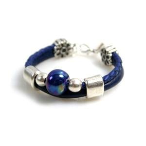 Bransoletka Ring Stone, niebieska