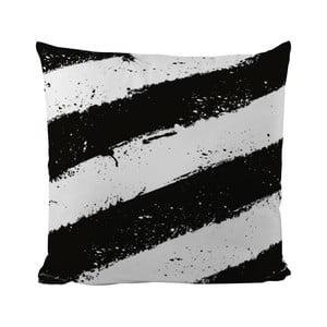 Poduszka Black Shake Stains On The Zebra, 50x50 cm