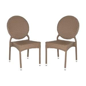 Komplet 2 krzeseł Veranda