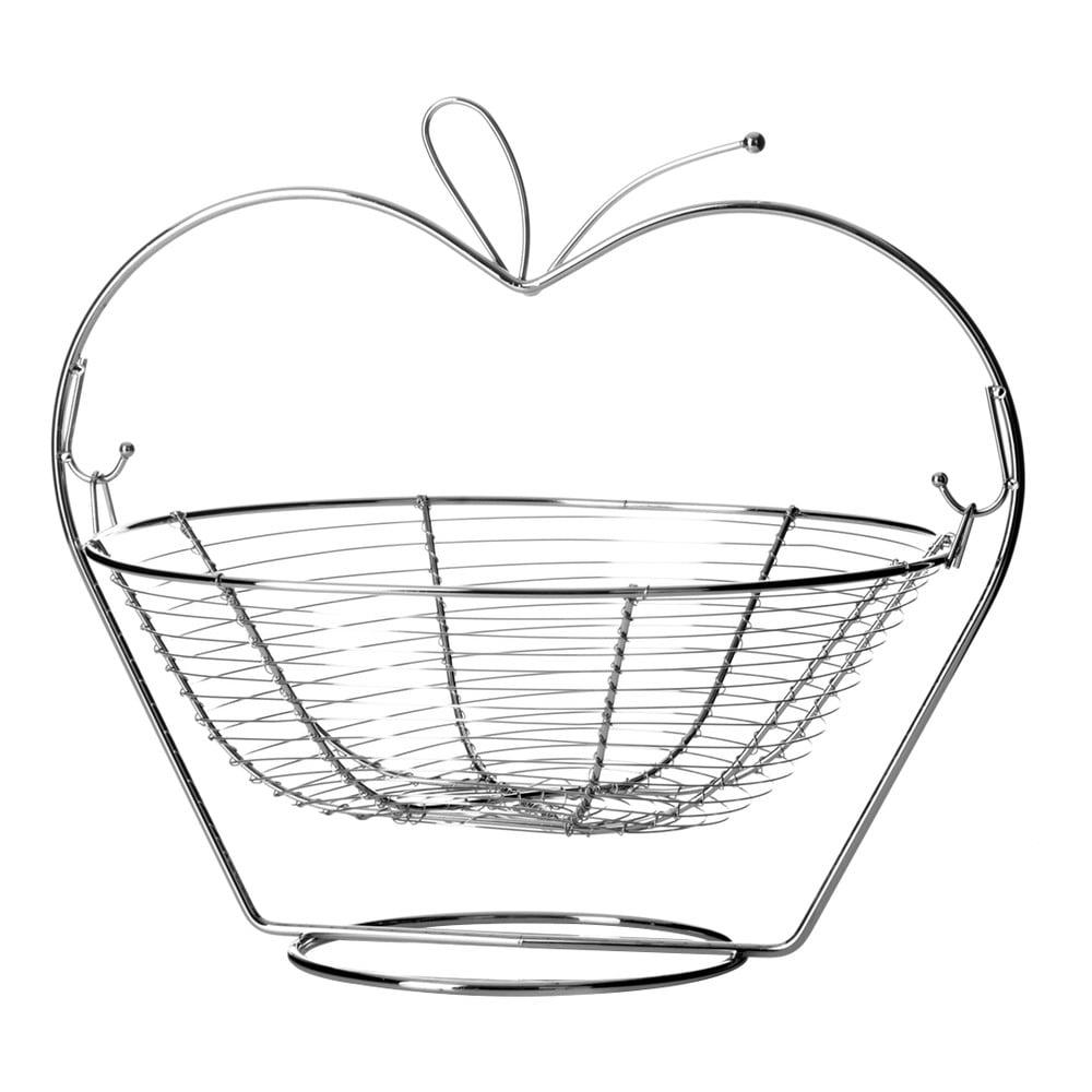 Metalowy Stojak Z Koszykiem Na Owoce Unimasa Orchard Apple Bonami