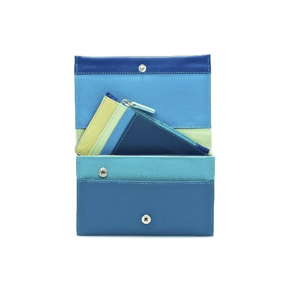 Portfel i etui na karty kredytowe Blue