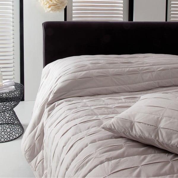 Narzuta na łóżko Ritual Oyster, 270x270 cm