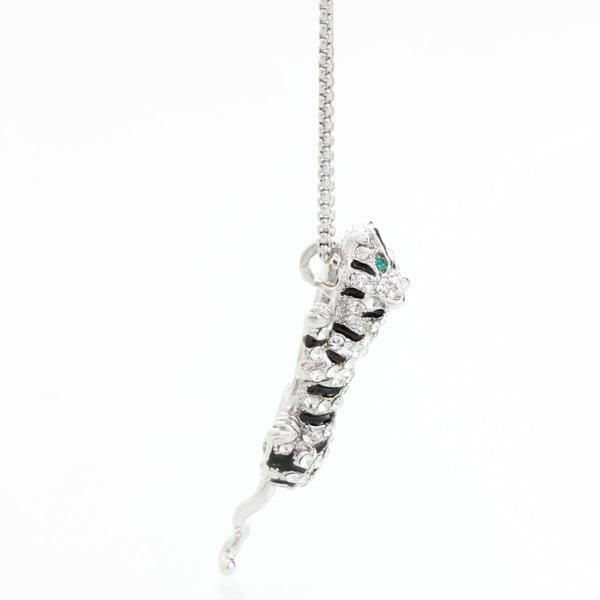 Naszyjnik ze Swarovski Elements, tygrys